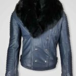 STRAIGHT CUT PURE ITALIAN LEATHER JACKET FOR MEN