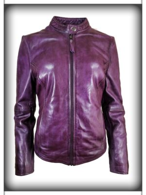 Women's Italian Finish Leather Jacket