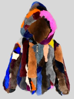 Multi-color stylish fur winter outerwear