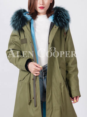 Super soft and stylish warm winter parka for women