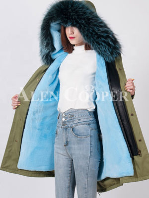 Super soft and stylish warm winter parka for women's
