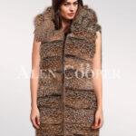 Hybrid Fur Parka Convertibles Crystal Fox Paragrapgh
