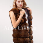 Hybrid Fur Parka Convertibles Polar Fox Paragraph Light-brown
