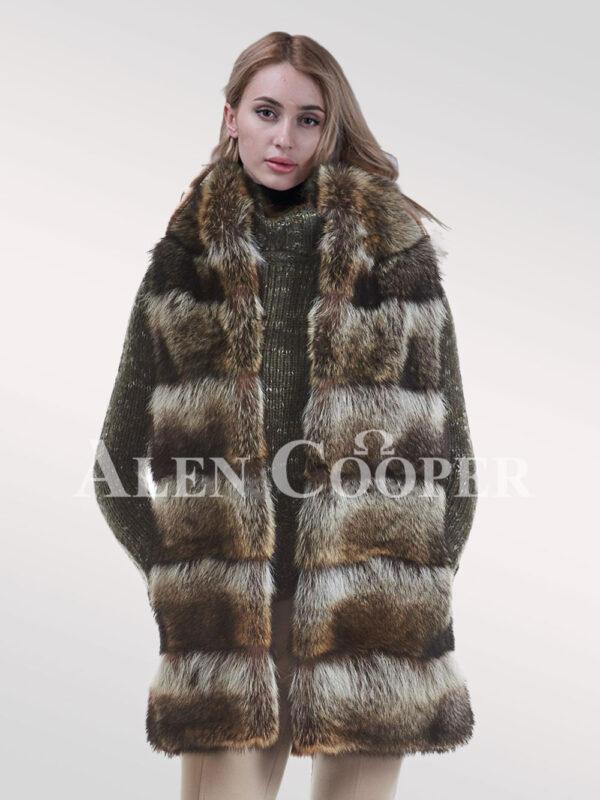 Hybrid Fur Parka Convertibles Raccoon Paragraph