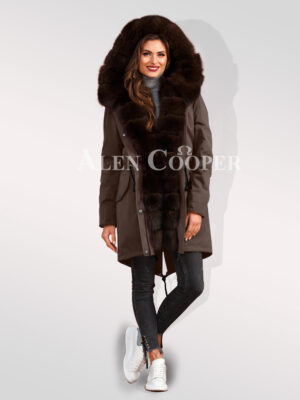 Exciting range of hybrid coffee parka convertibles to make womens more adorable