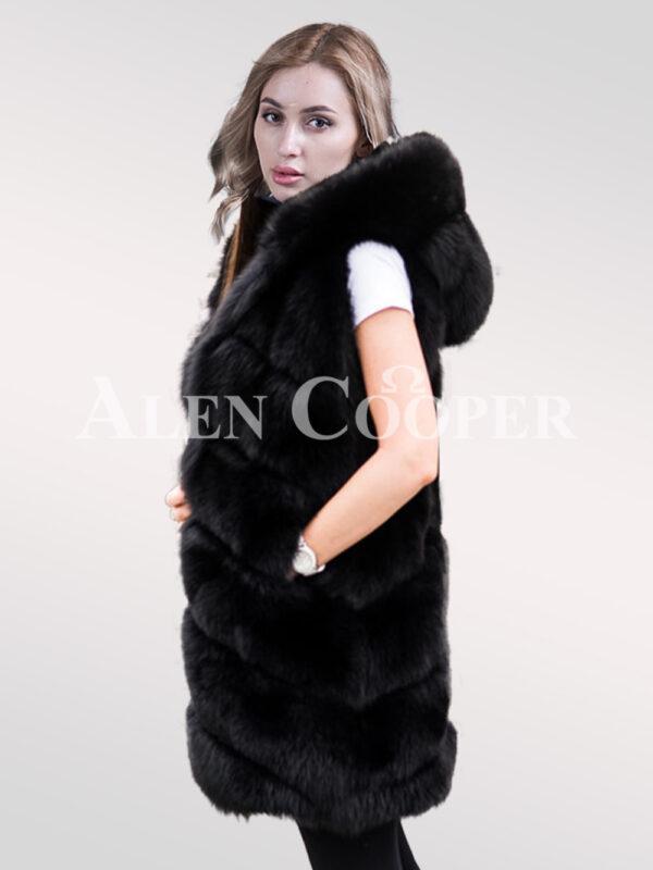 Hybrid Fur Parka Convertibles Polar Fox Paragraph