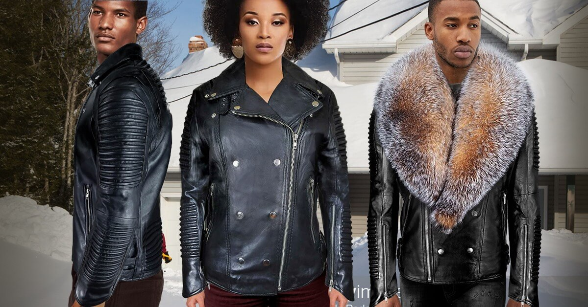 LEATHER JACKETS FOR WOMEN AND MEN: CHIC APPEAL BUILDING SIGNATURE IDENTITY