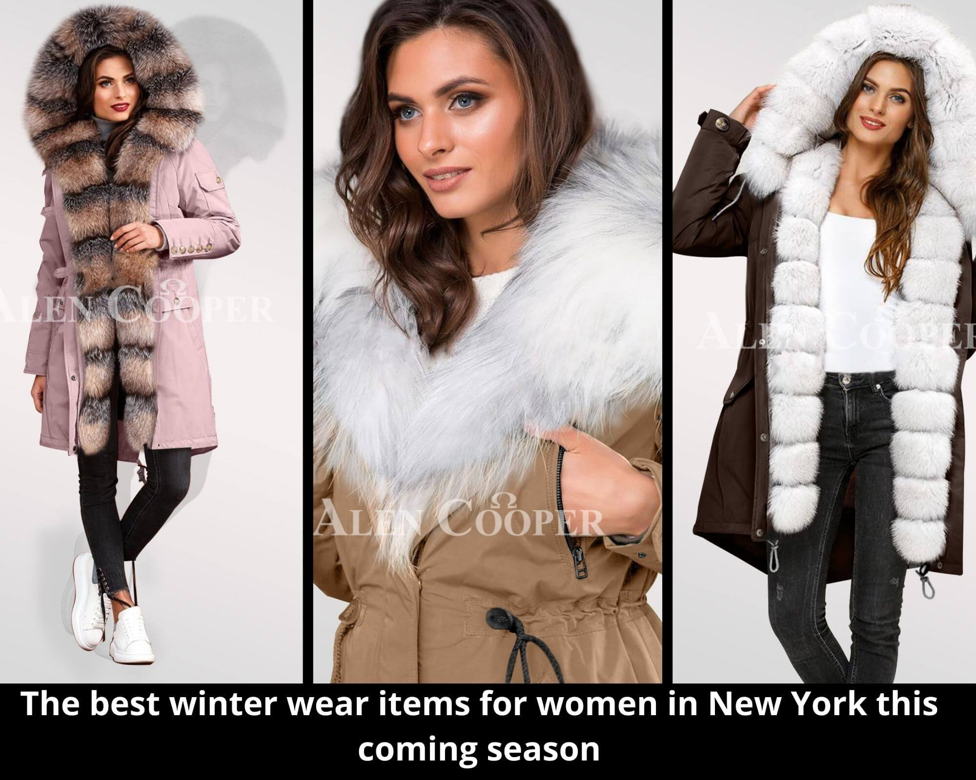 THE BEST WINTER WEAR ITEMS FOR WOMEN IN NEW YORK THIS COMING SEASON