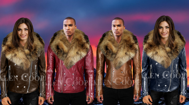 GENUINE LEATHER MOTO JACKETS FIT ALL BILLS AND MORE