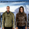 TIMELESS APPEAL OF LEATHER JACKETS FOR BOTH STYLISH MEN AND WOMEN