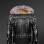 scandinavian-crystal-fox-fur-biker-jackets back side view