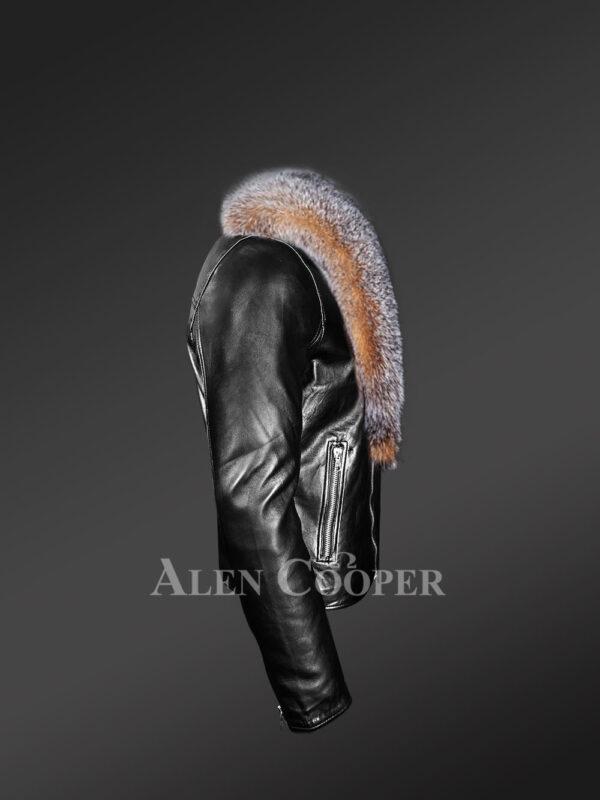 scandinavian-crystal-fox-fur-biker-jackets side view