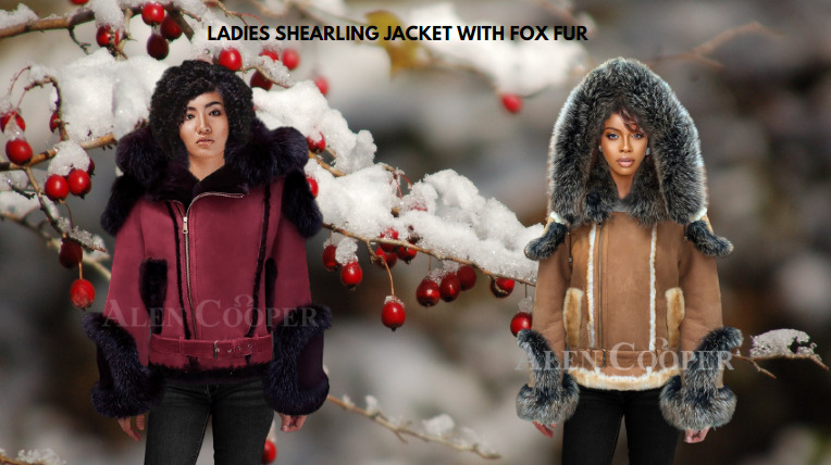 WOMEN'S SHEARLING LEATHER JACKETS AND FEW BASIC STYLE TIPS