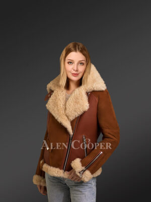 Authentic shearling coats for women to raise the fashion benchmark