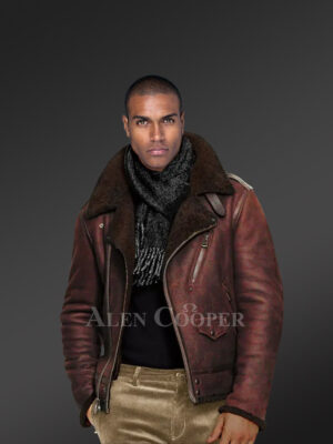 Men's Authentic shearling jackets flawlessly designed