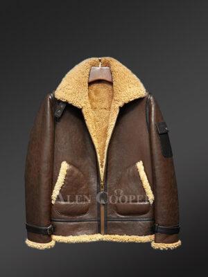 Handmade original shearling jackets redefine masculinity