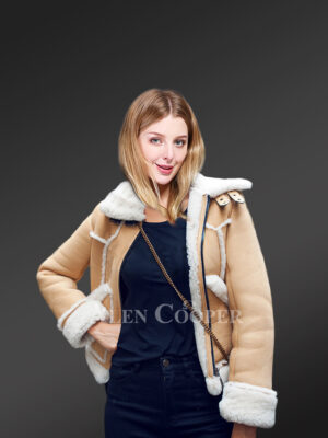 Winter Jackets For Womens Crafted From Authentic Shearling Pelts